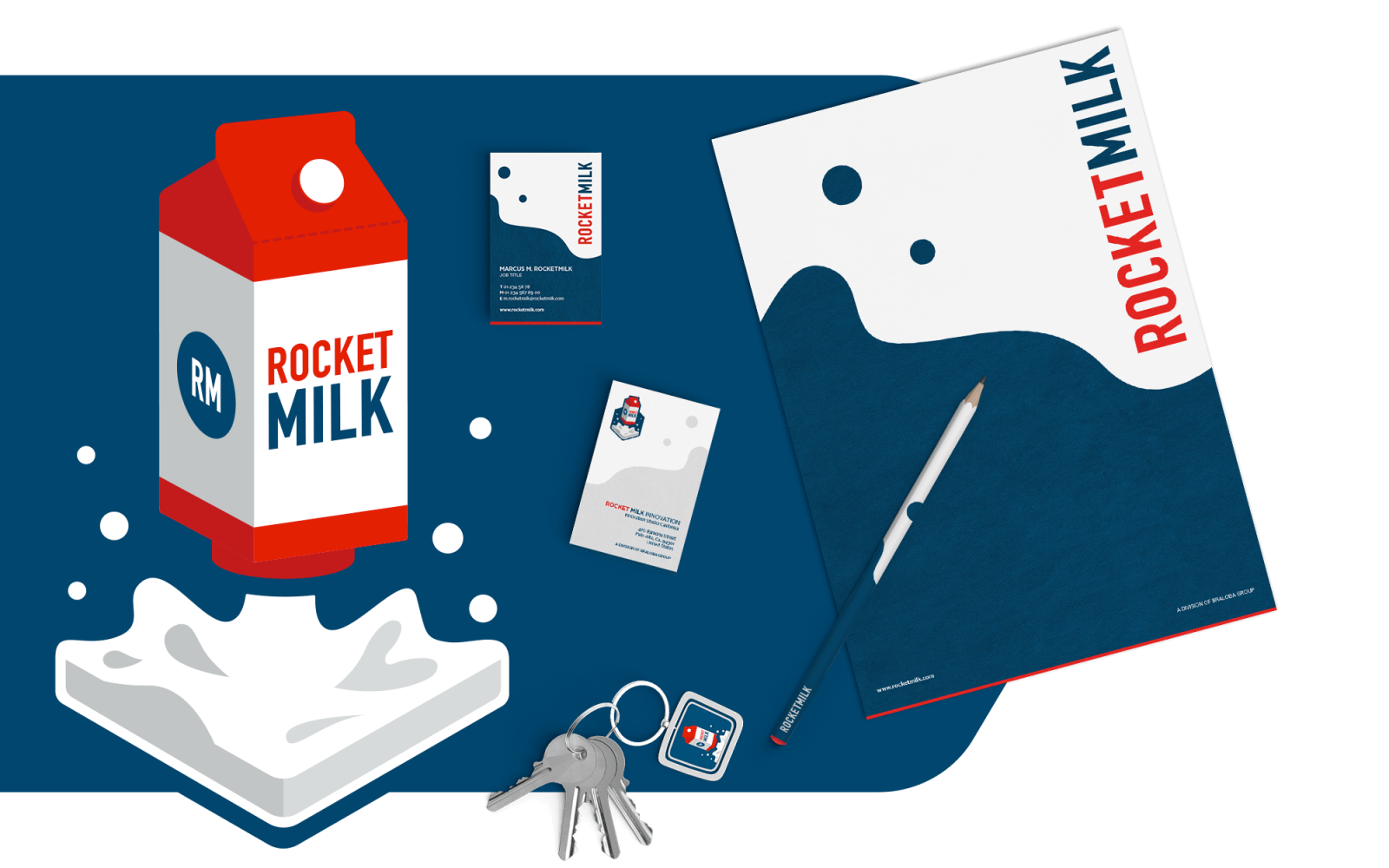 Screenshots Rocket Milk Innovation Labs